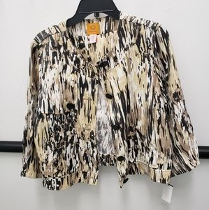 Ruby Rd Jacket/Blazer  Abstract print Size 12